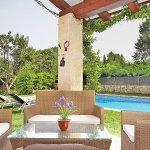 Finca Mallorca MA3530 Terrasse mit Sitzecke