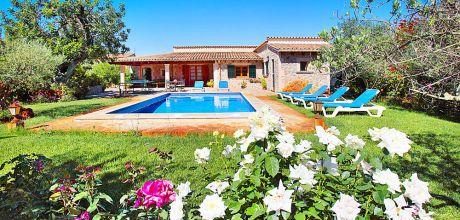 Mallorca Nordküste – Ferienhaus Mallorca Pollensa 3379 mit Pool für 6 Personen, Grundstück 5.325qm, Wohnfläche 115qm. An- und Abreisetag nur Samstag.