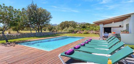Mallorca Nordküste – Komfort Ferienhaus Pollensa 3442 mit Pool für 6 Personen, Strand 3,8km. An- und Abreisetag Samstag – Nebensaison flexibel auf Anfrage, gegen Aufpreis.
