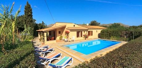 Mallorca Nordküste – Ferienhaus Puerto Pollensa 3494 mit Pool für 6 Personen, Strand 3,5km. Wechseltag flexibel – Mindestmietzeit 1 Woche