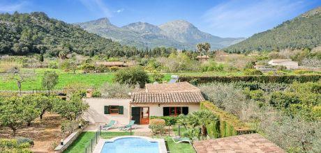 Mallorca Nordküste – Komfort-Ferienhaus Pollensa 3499 mit eingezäuntem Pool und Internet mieten. Wechseltag Samstag, Nebensaison flexibel auf Anfrage.