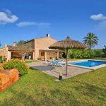 Ferienhaus Mallorca MA3520 Garten mit Pool