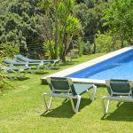 Finca Mallorca MA3505 Liegen am Pool