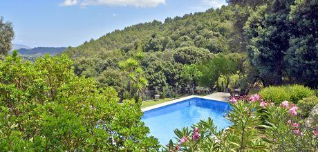 Mallorca Nordküste – Finca Pollensa 3505 mit Pool in ruhiger Lage, Grundstück 60.000qm, Wohnfläche 200qm. An- und Abreisetag nur Samstag. 2019 buchbar!