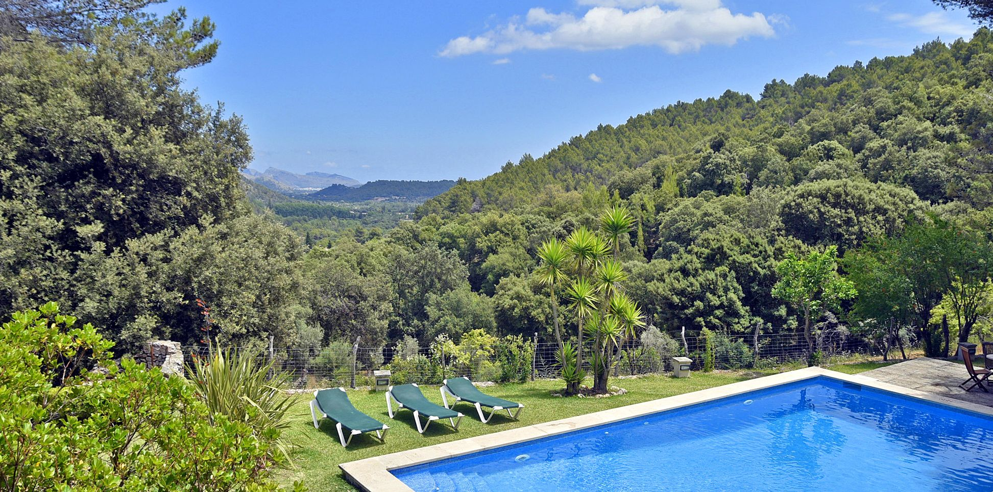Finca Mallorca MA3505 Pool mit Ausblick