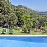 Finca Mallorca MA3505 Pool mit Liegen