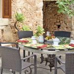 Finca Mallorca MA3505 Terrasse mit Gartenmöbel