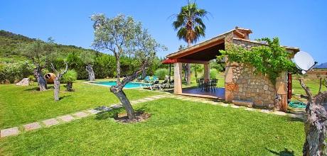 Mallorca Nordküste – Komfort-Finca Pollensa 3440 mit Pool, Grundstück 6.000qm, Wohnfläche 126qm. An- und Abreisetag Samstag, Vorsaison flexibel auf Anfrage – Mindestmietzeit 1 Woche.