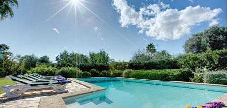 Mallorca Nordküste – Ferienhaus Pollensa 33266 mit Pool und Internet für 6 Personen, Strand 4,2km. Wechseltag Samstag, im Oktober 2019 Anreise flexibel auf Anfrage möglich.