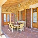 Ferienhaus Mallorca MA3065 Gartenmöbel auf der Terrasse