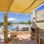 Ferienhaus Mallorca MA3065 Grill auf der Terrasse