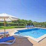 Ferienhaus Mallorca MA3065 Sonnenliegen am Pool