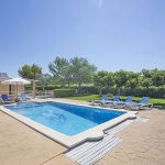 Ferienhaus Mallorca MA3065 Terrasse um den Pool