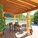 Ferienhaus Mallorca MA3069 überdachte Terrasse