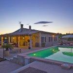 Ferienhaus Mallorca MA3069 Abenddämmerung am Pool