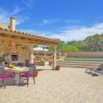 Ferienhaus Mallorca MA3069 Esstisch auf der Terrasse
