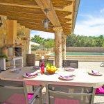Ferienhaus Mallorca MA3069 Esstisch auf der Terrasse (2)