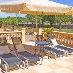 Ferienhaus Mallorca MA3069 Gartenmöbel auf der Terrasse