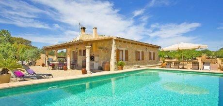Mallorca Nordküste – Komfort Finca Ariany 3069 mit Pool, Grundstück 5.500qm, Wohnfläche 112qm. Wechseltag flexibel – Mindestmietzeit 1 Woche.
