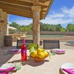 Ferienhaus Mallorca MA3069 Terrasse mit Esstisch