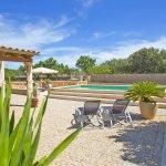 Ferienhaus Mallorca MA3069 Terrasse mit Gartenmöbel