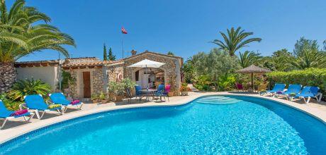 Mallorca Nordküste – Ferienhaus Pollensa 3155 mit Pool und Whirlpool mieten. Wechseltag Samstag.