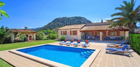 Mallorca Nordküste – Komfort Ferienhaus Pollensa 3156 mit Pool und Internet für 6 Personen mieten. An- und Abreisetag Samstag.