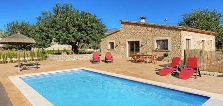 Mallorca Nordküste – Komfort Ferienhaus Pollensa 3171 mit Pool für 6 Personen, Strand 4,5km. An- und Abreisetag Samstag – Nebensaison flexibel auf Anfrage. 2019 buchbar.