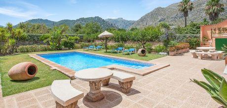 Mallorca Nordküste – Ferienhaus Pollensa 3173 mit Pool für 6 Personen, Strand 6km, Wechseltag Samstag – Nebensaison flexibel. – 2018 jetzt buchen!