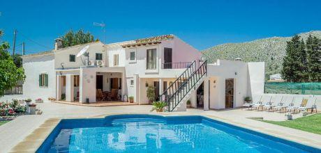 Mallorca Nordküste – Komfort-Ferienhaus Puerto Pollensa 3176 mit Pool für 6 Personen, Strand 2,7km, Wechseltag Samstag, Nebensaison flexibel – Mindestmietzeit 1 Woche.