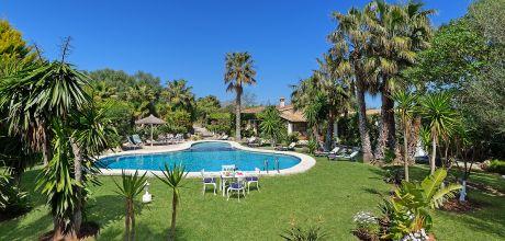 Mallorca Nordküste – Ferienhaus Puerto Pollensa 3177 mit Pool auf gepflegtem Gartengrundstück in Strandnähe (1,8 km), Wechseltag flexibel, Mindestmietzeit 1 Woche!