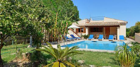 Mallorca Nordküste – Ferienhaus Pollensa 3178 mit Pool für 6 Personen, Strand 6,9km. Wechseltag Samstag, Nebensaison flexibel – Mindestmietzeit 1 Woche.