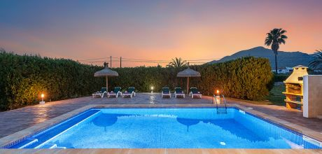 Mallorca Nordküste – Ferienhaus MA3180 mit Pool in Strandnähe (ca. 1km) mieten. An- und Abreisetag Samstag – Nebensaison flexibel auf Anfrage. 2019 buchbar.