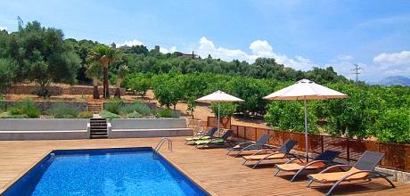 Mallorca Nordküste – Luxus-Finca Buger 3260 mit Pool und Internet für 10 Personen mieten. Wechseltag Samstag!