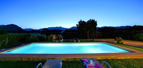 Mallorca Nordküste – Ferienhaus Pollensa 3274 mit Pool und schönem Ausblick für 6 Personen, Strand 4km. Wechseltag Samstag.