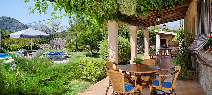 Ferienhaus Mallorca MA3521 - schattige Terrasse