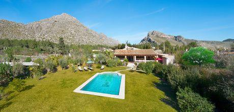 Mallorca Nordküste – Ferienhaus Puerto Pollensa 3562 mit Pool und schönem Ausblick für 5 Personen, Strand 1,6km. Wechseltag Samstag/Dienstag – Nebensaison flexibel Mindestmietzeit 1 Woche.