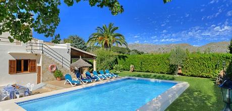 Mallorca Nordküste – Ferienhaus Pollensa 3568 mit Pool und Internet für 6 Personen mieten, Strand 4km. Wechseltag Samstag – Nebensaison flexibel auf Anfrage. – 2018 jetzt buchen!