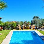 Ferienhaus Pollensa 3160 Garten mit Pool