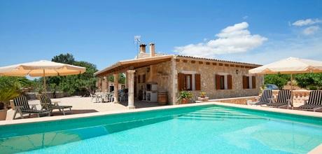 Mallorca Nordküste – Komfort Finca Ariany 3069 mit Pool, Grundstück 5.500qm, Wohnfläche 112qm. Wechseltag flexibel – Mindestmietzeit 1 Woche. 2019 buchbar!