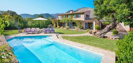 Mallorca Nordküste – Komfort-Ferienhaus Pollensa 3175 mit Pool und schönem Ausblick, Strand 5,5km, Wechseltag Samstag – Nebensaison flexibel auf Anfrage. Oktober Sonderpreise – 2018 jetzt buchen!
