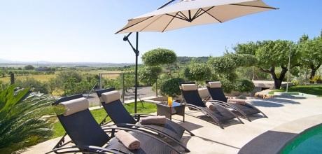 Mallorca Nordküste – Komfort Finca Llubi 3182 in ruhiger Lage mit Pool, Grundstück 7.000qm, Wohnfläche 150qm. Wechseltag flexibel – Mindestmietzeit 1 Woche. 2019 buchbar.