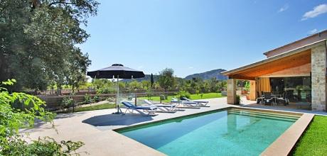 Mallorca Nordküste – Luxus-Finca Pollensa 3350 mit Pool und Internet für 5 Personen mieten. Wechseltag Samstag