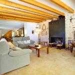 Finca Mallorca MA3350 Wohnraum mit Kamin
