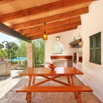 Finca Mallorca MA3380 - überdachte Terrasse