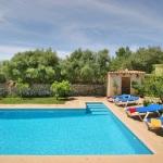 Finca Mallorca MA3380 - Blick auf den Pool