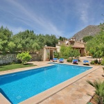 Finca Mallorca MA3380 - Terrasse am Pool