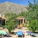 Finca Mallorca MA3380 - Terrasse mit Liegen