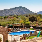 Finca Mallorca Pollensa 3437 - Ausblick