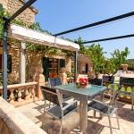 Finca Mallorca Pollensa 3437 - Grillterrasse